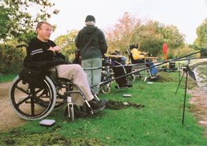 diabled access fishing