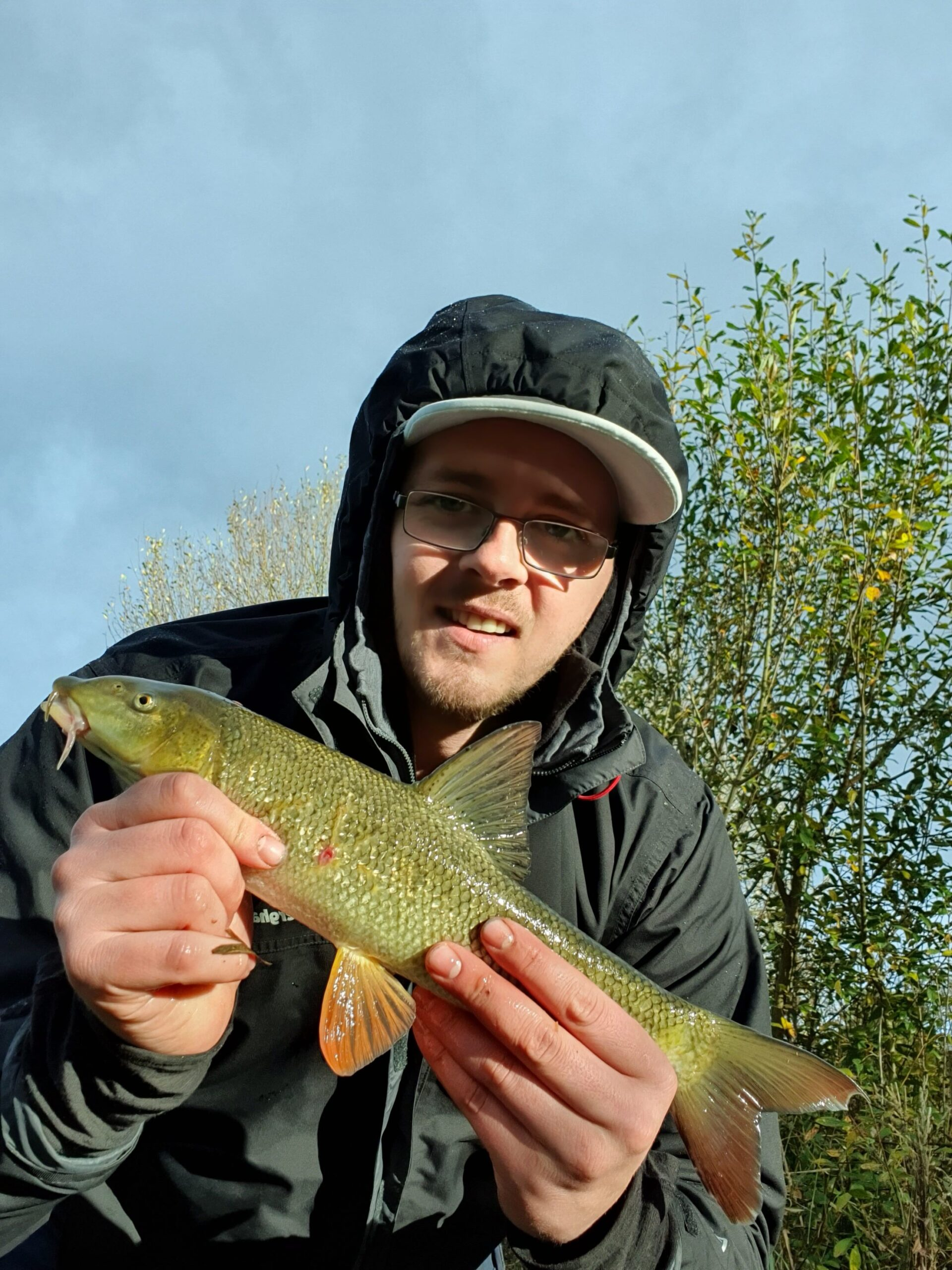 Well done Matt. Matt Isherwood had a good mixed bag of fish from the River Creedy on saturday.